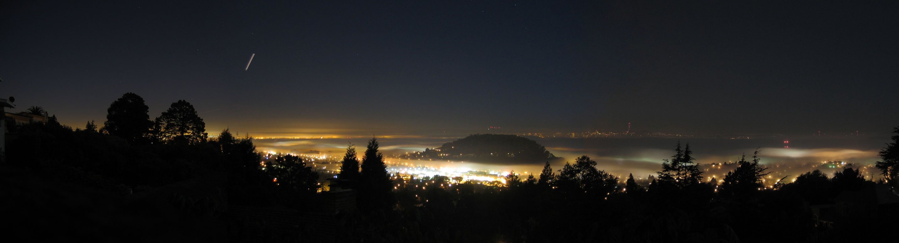El Cerrito Skyline at night