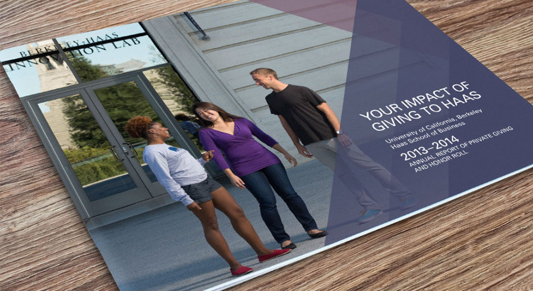 UC Berkeley Haas School Annual Report