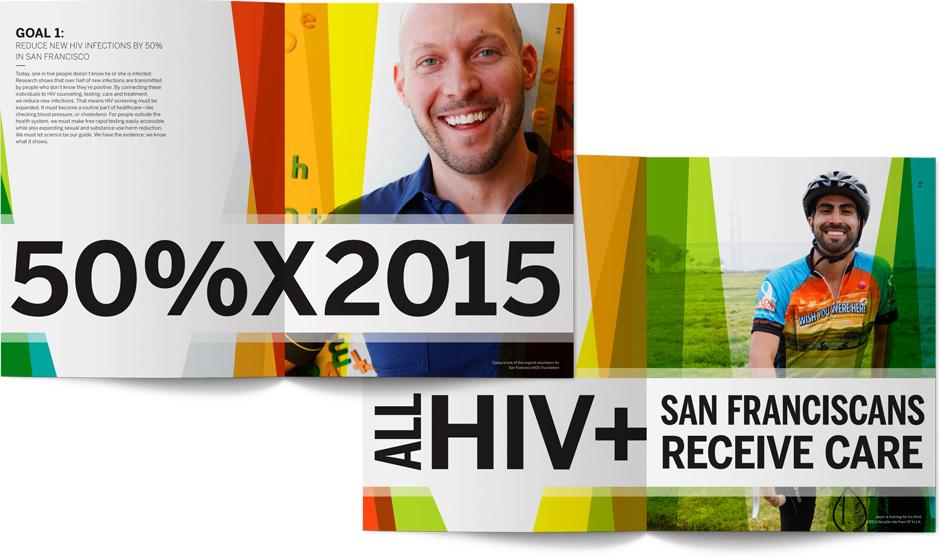 San Francisco AIDS Foundation Annual Interior Spreads