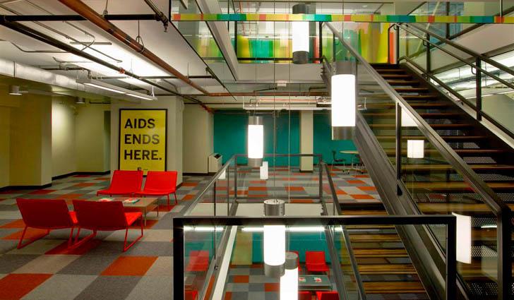 San Francisco AIDS Foundation Office Interior