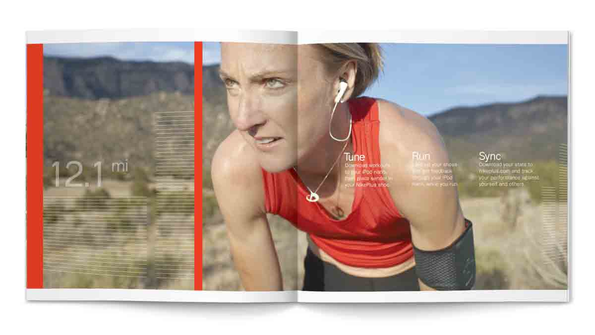 Nike Take-One Spread