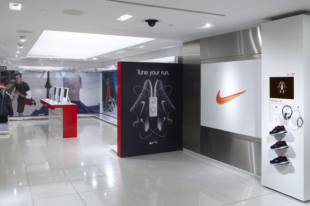 Niketown New York Retail Display