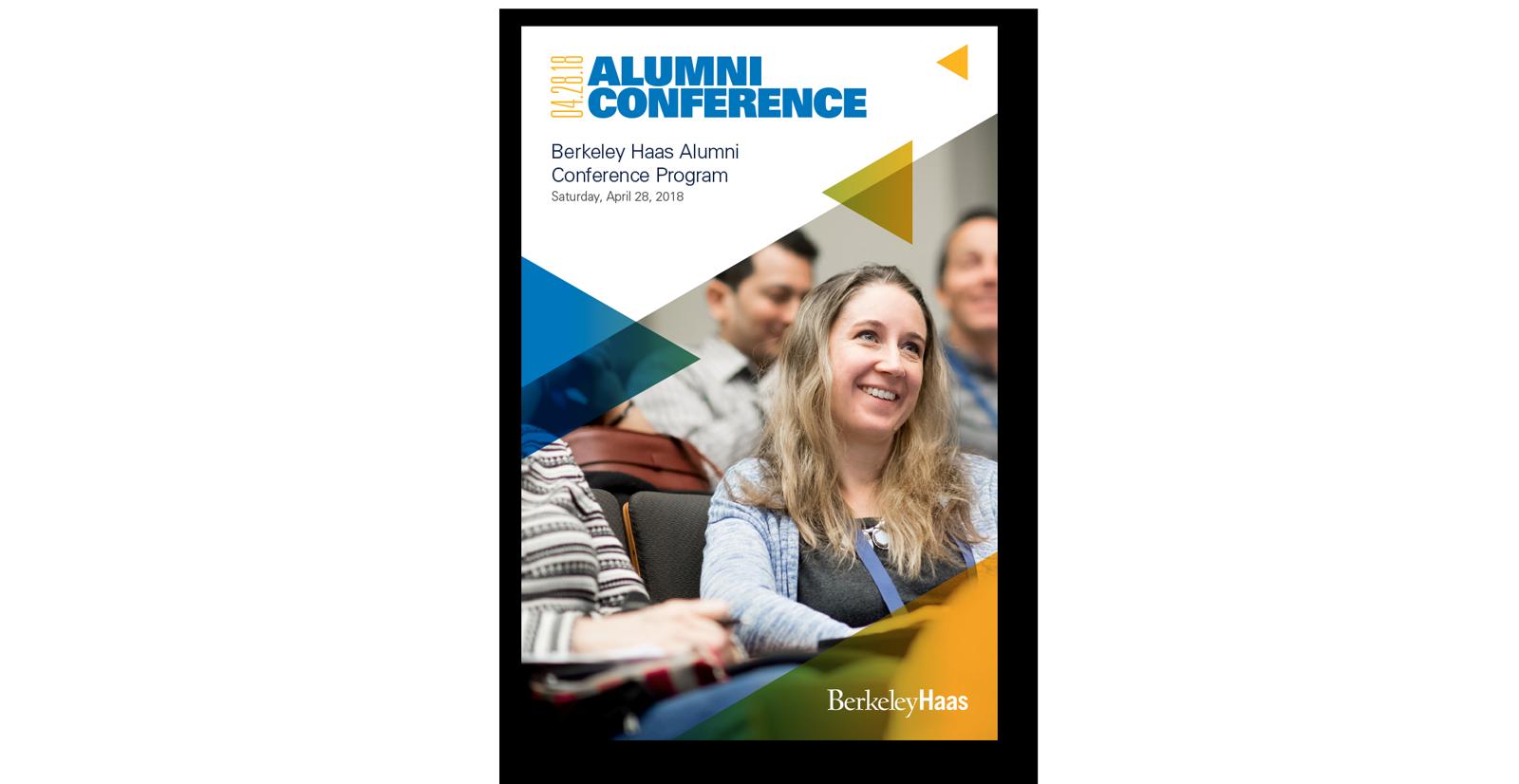 Haas School Alumni Conference Program