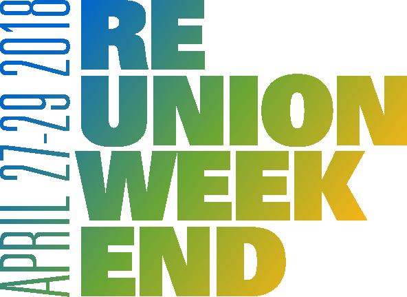 Haas School Reunion Weekend Logotype