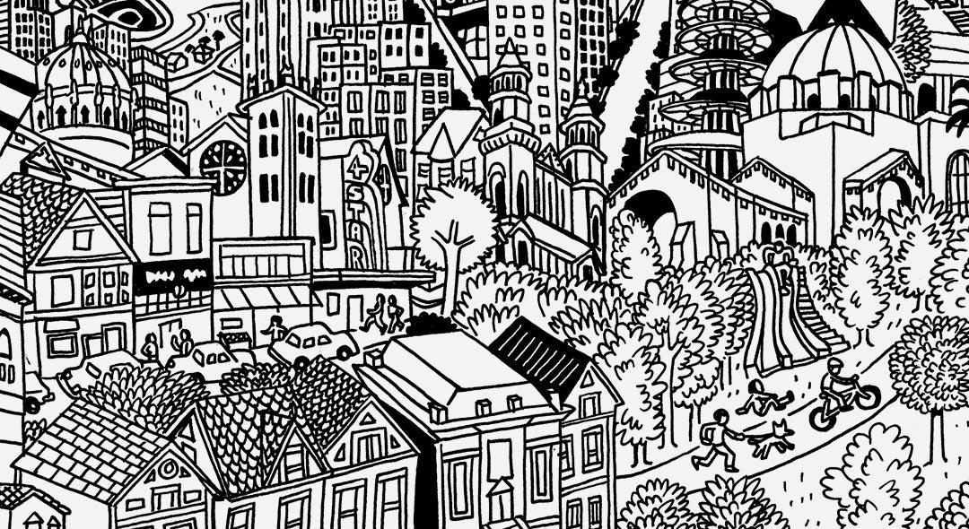San Francisco Day School Illustration Thumbnail