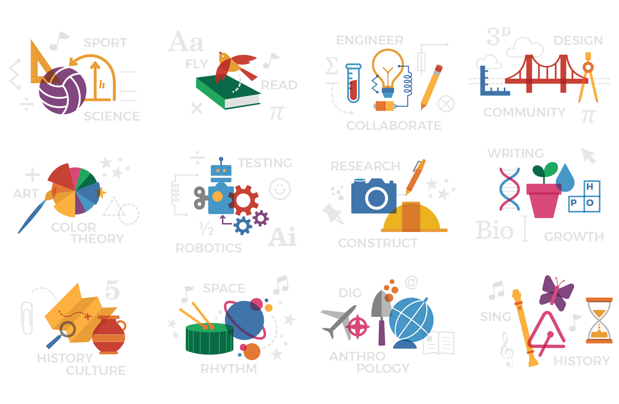 San Francisco Day School Icon Combos
