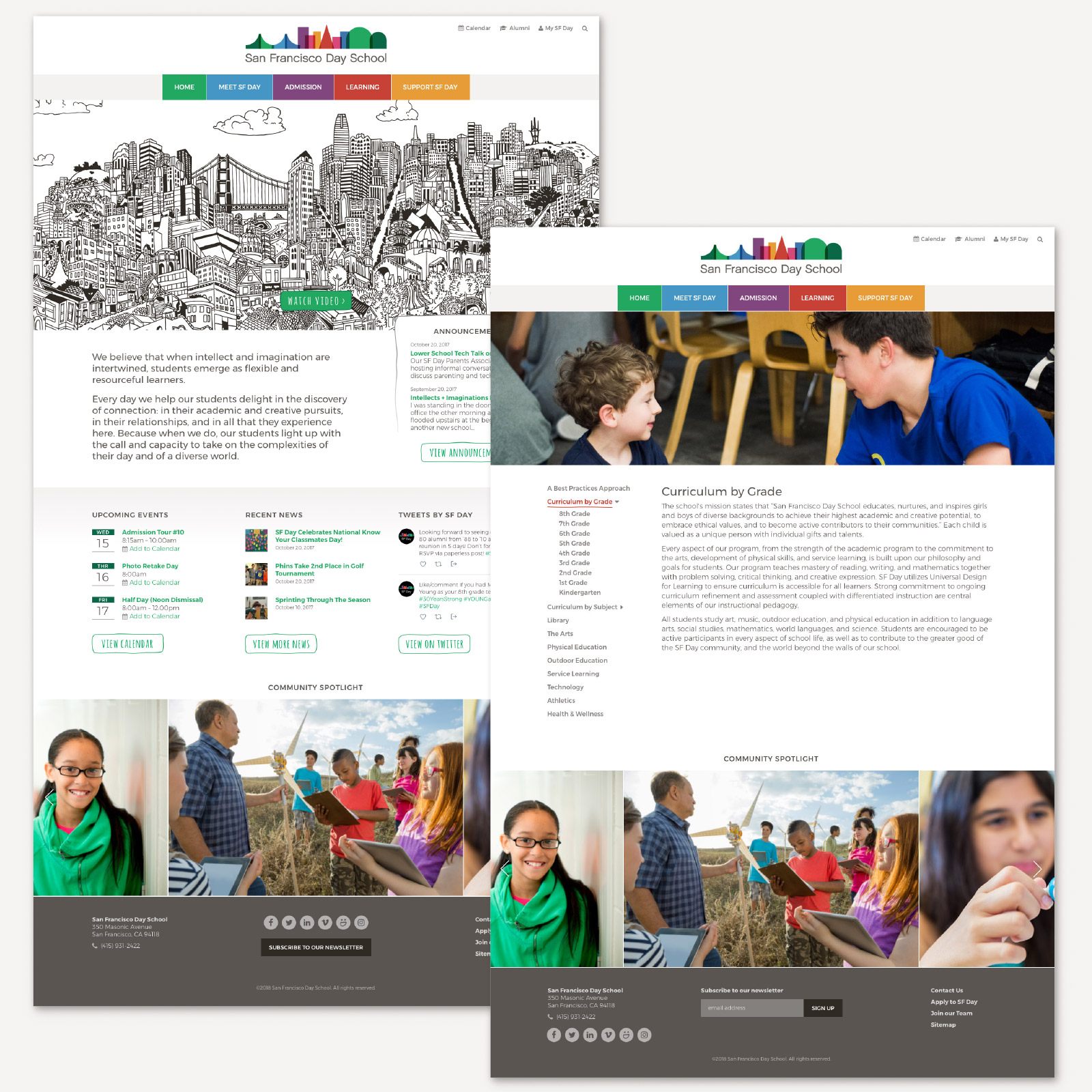 San Francisco Day School Website