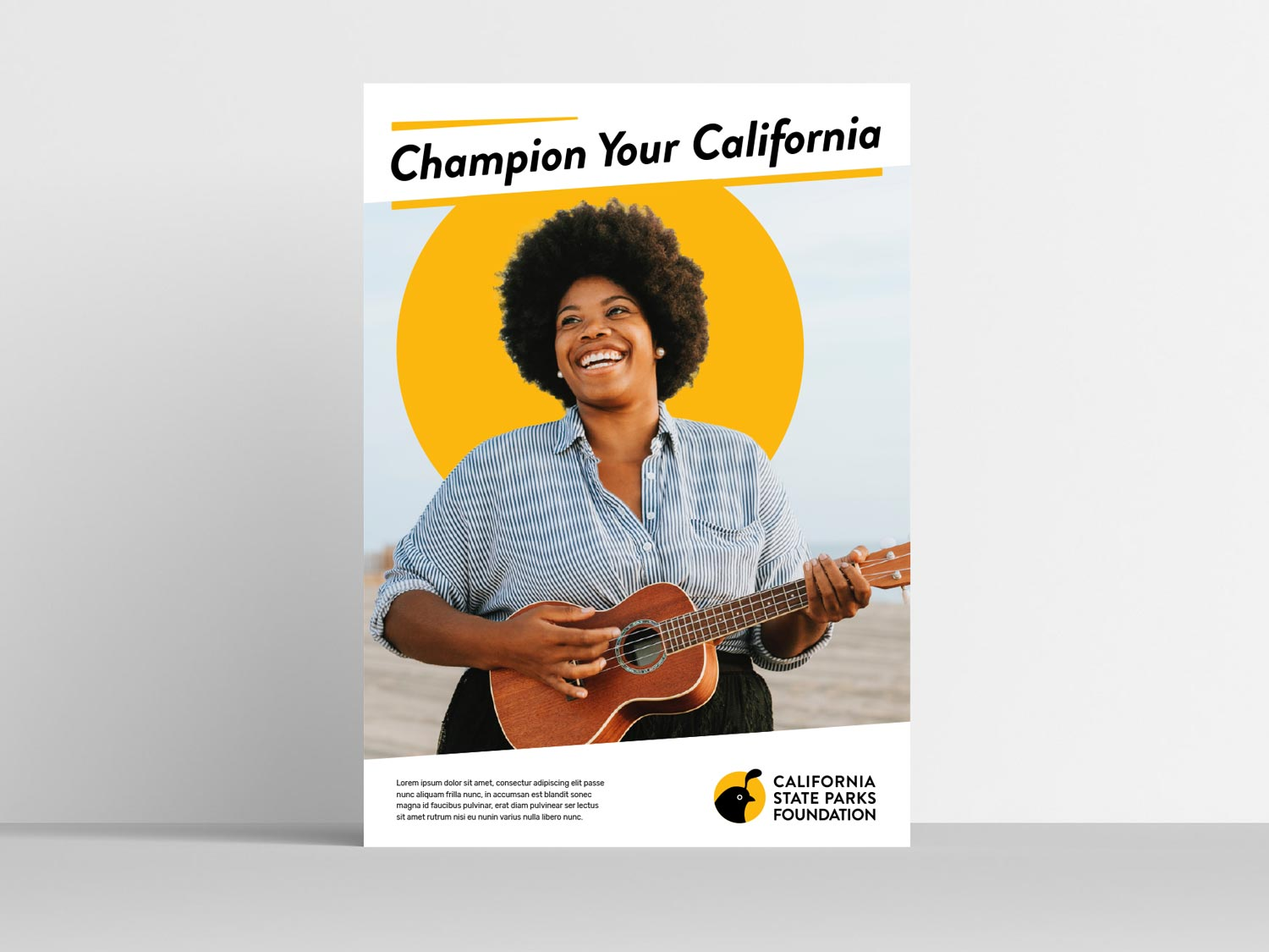 California State Parks Foundation Poster Example