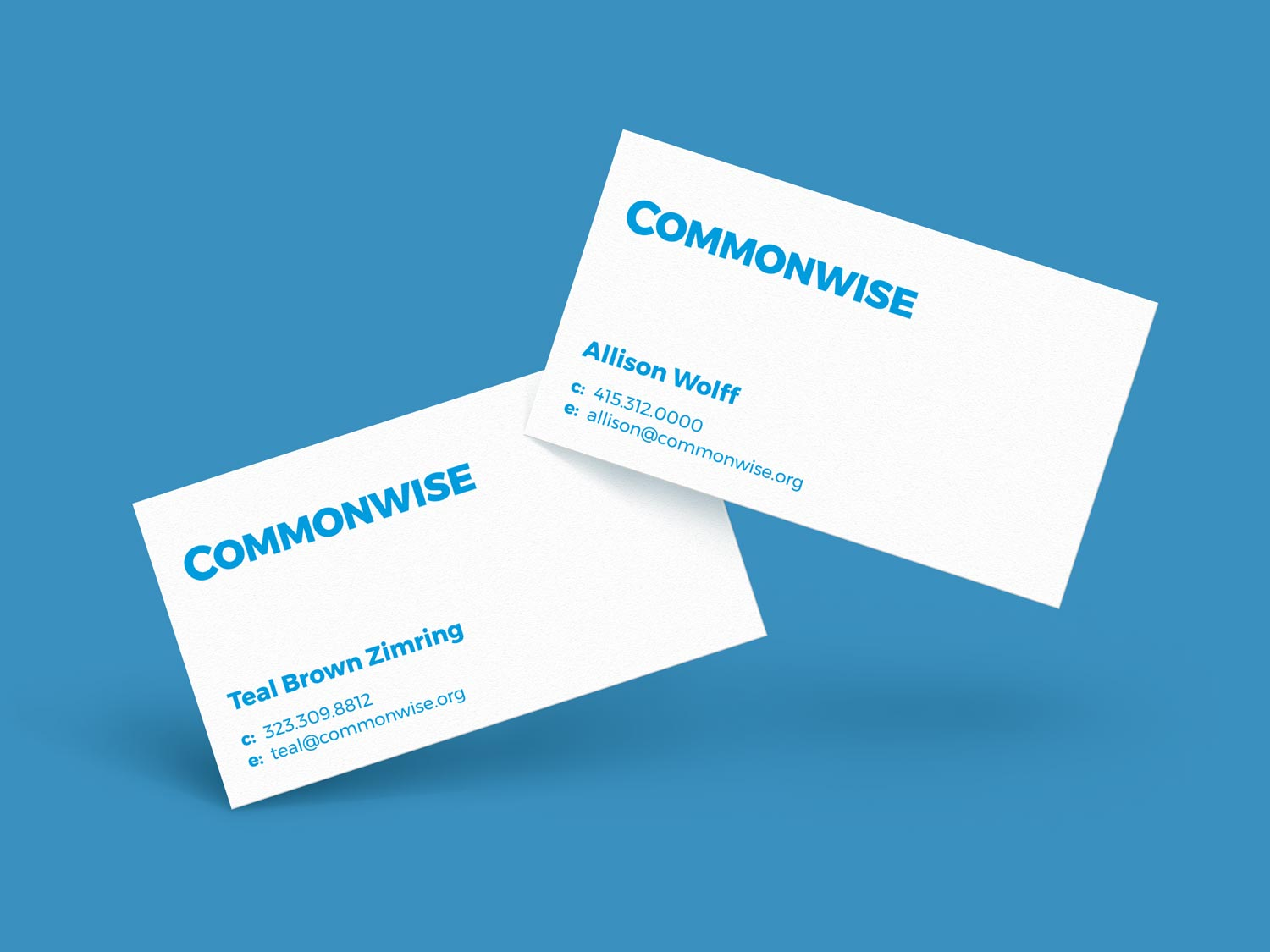 Commonwise Business Cards