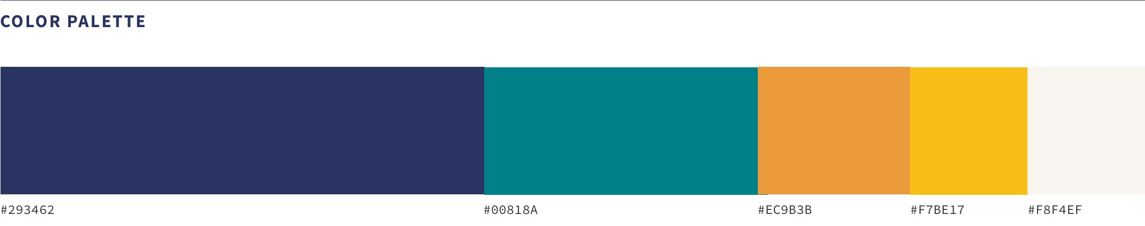 Center For Humane Technology Color Palette
