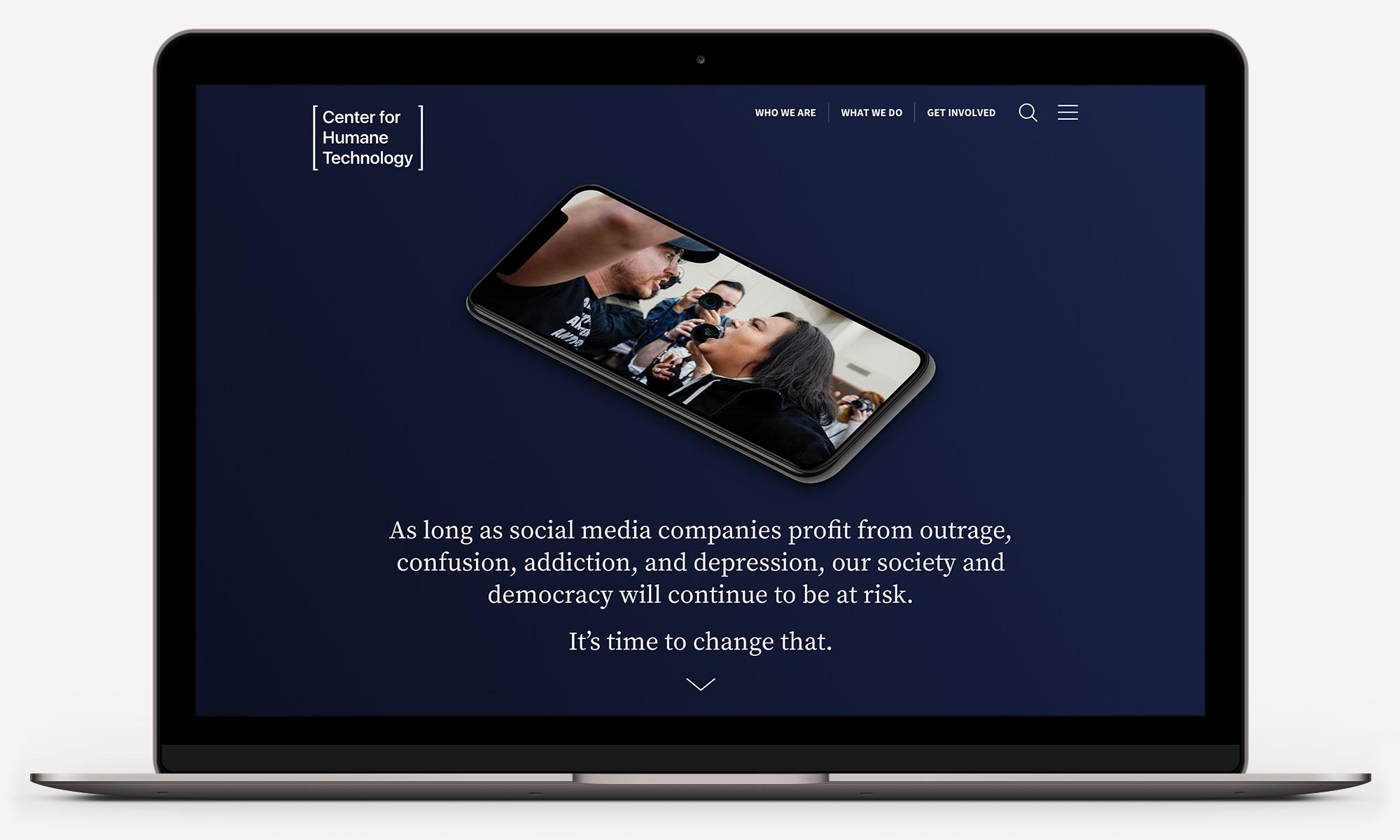 Center For Humane Technology Website