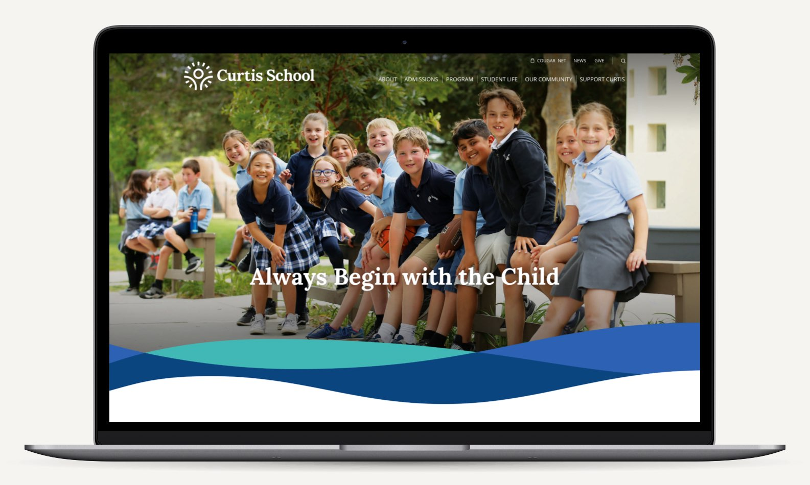Curtis School Homepage