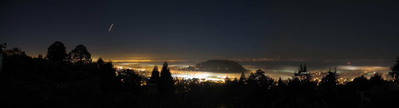 El Cerrito Skyline at night