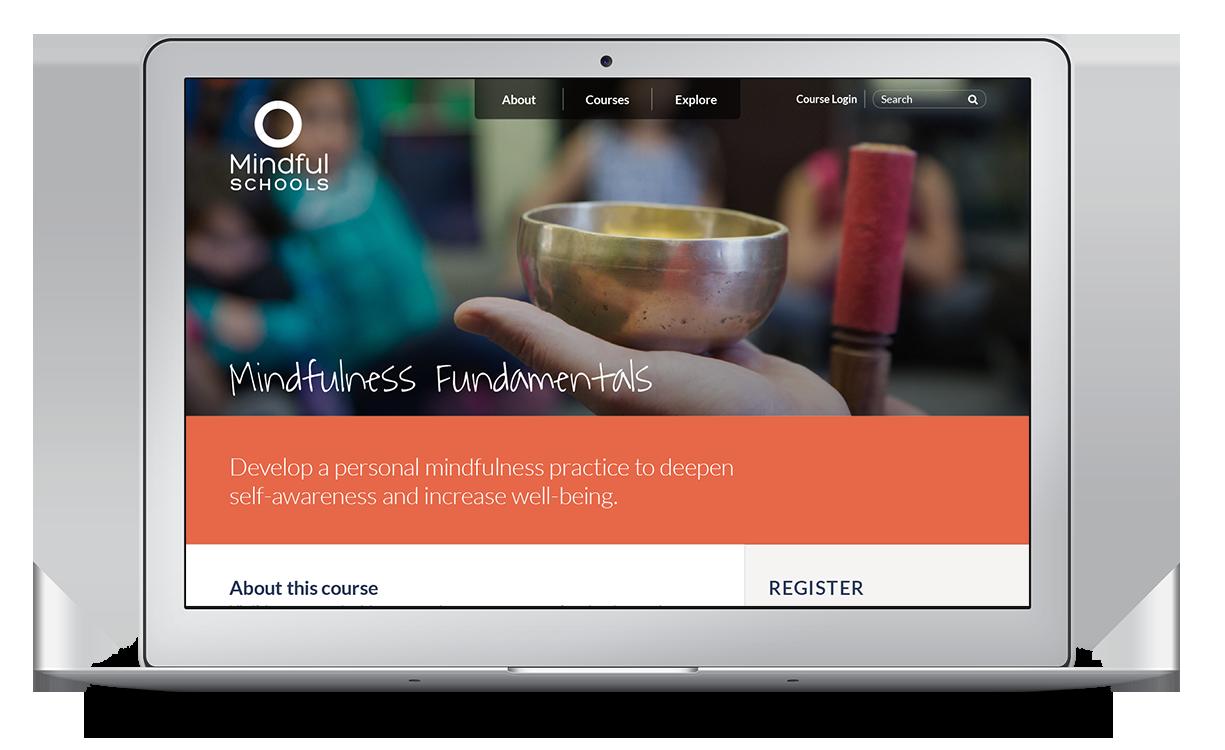 Mindful Schools Website Concept
