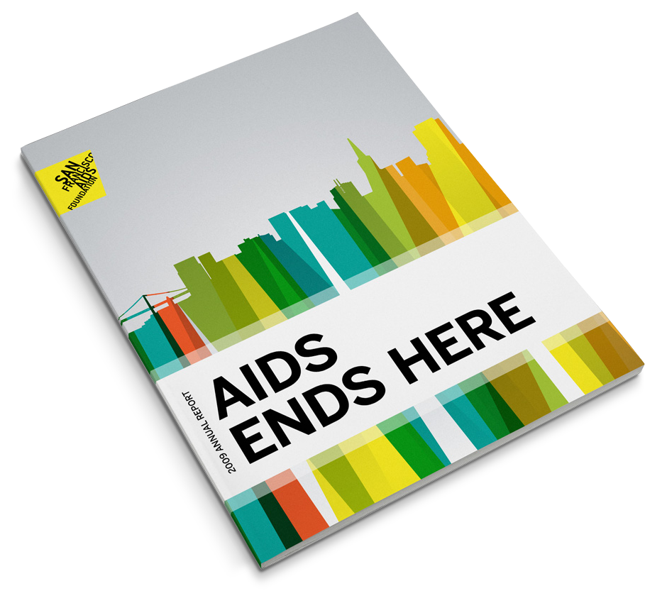 San Francisco AIDS Foundation Annual Report Cover