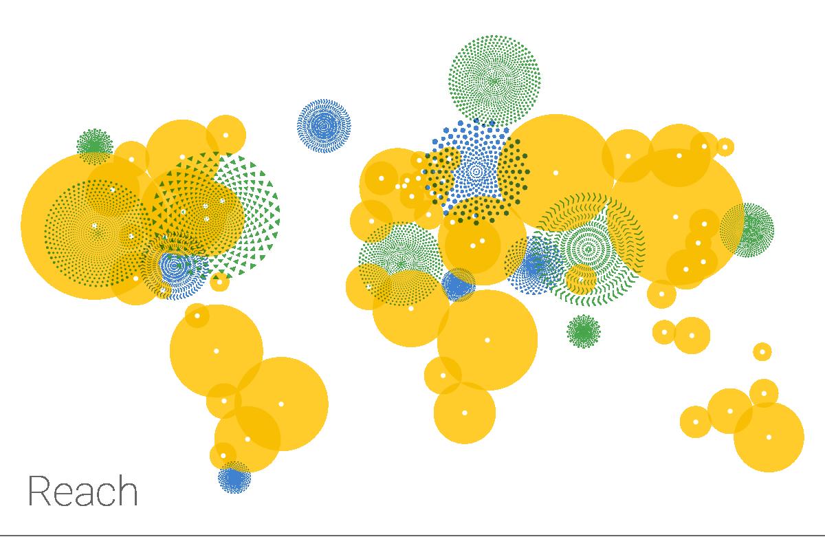 Google illustration - Reach