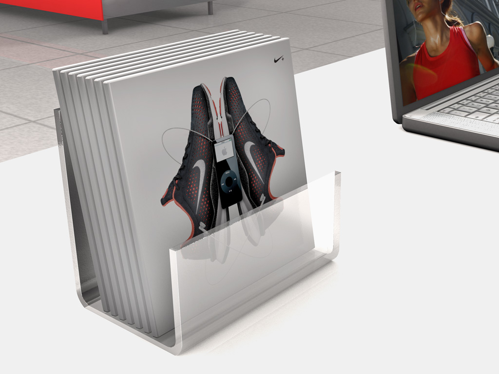 Nike Take-One Rendering