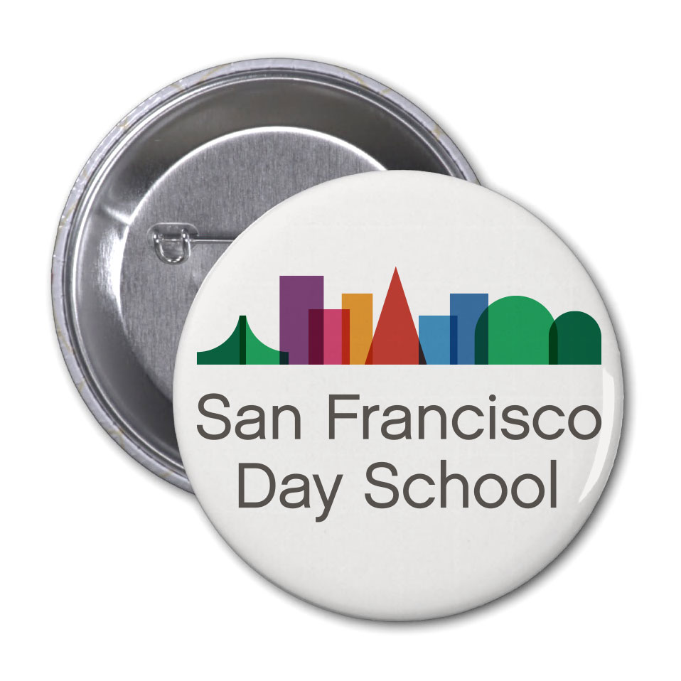 San Francisco Day School Button
