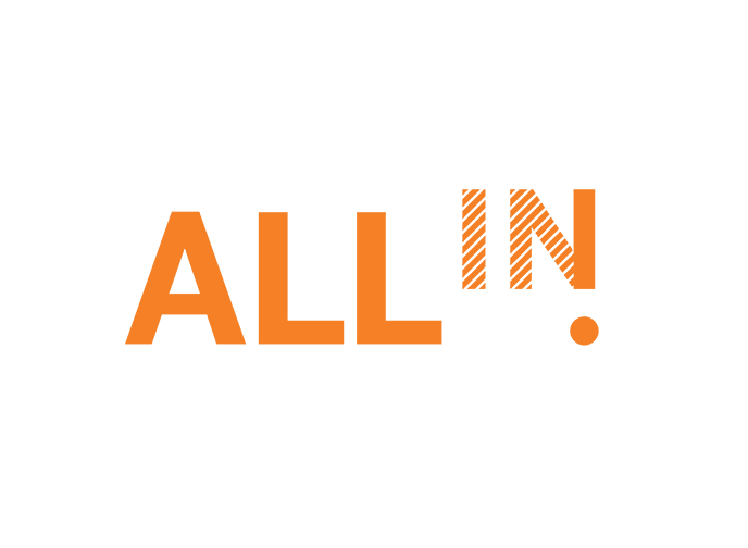 OMCA All In! Logo