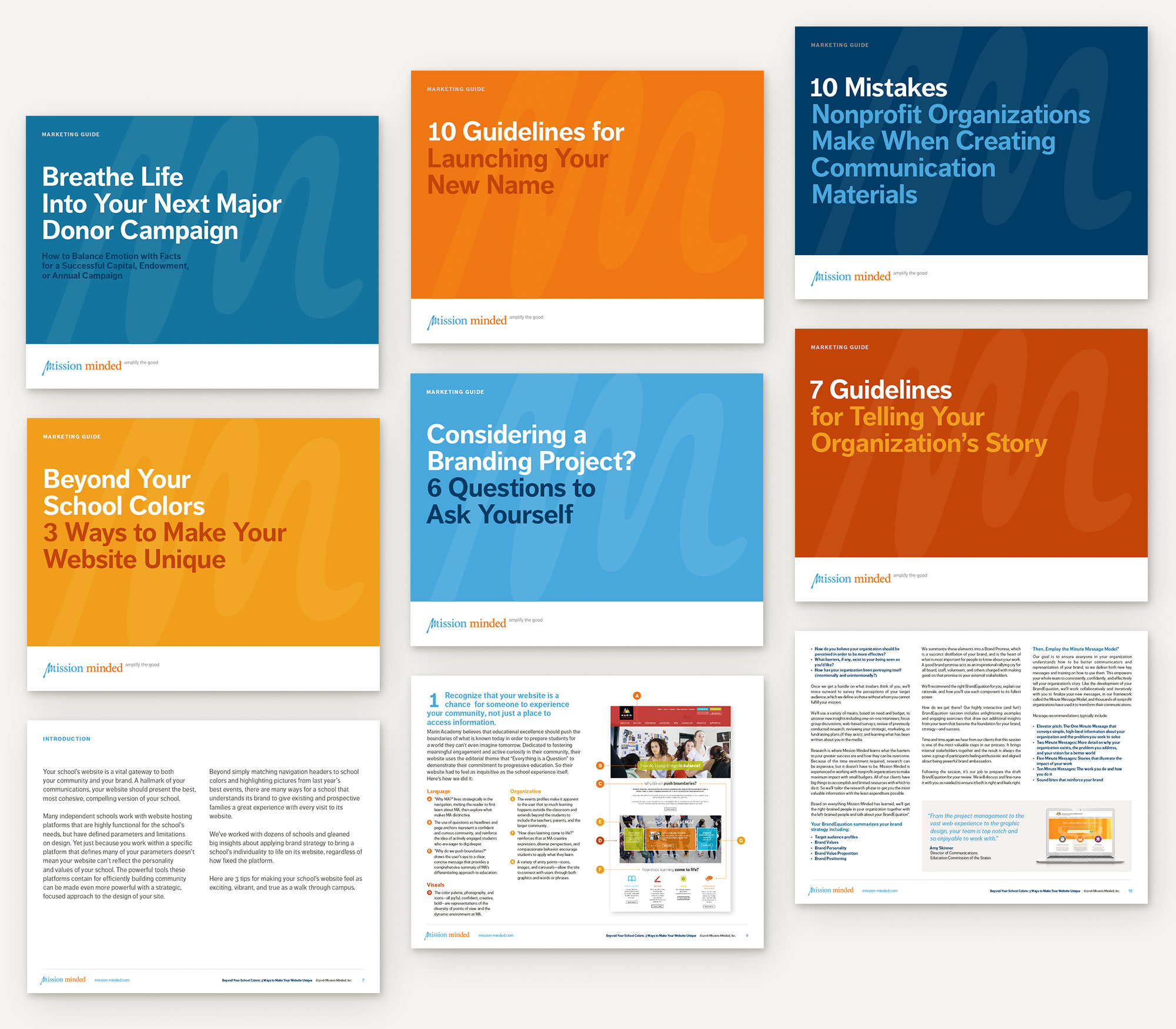Mission Minded Marketing Guides Templates