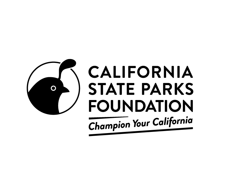 California State Parks Foundation Logo with Tagline Black