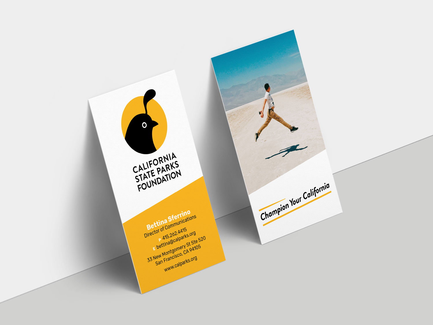 California State Parks Foundation Business Cards