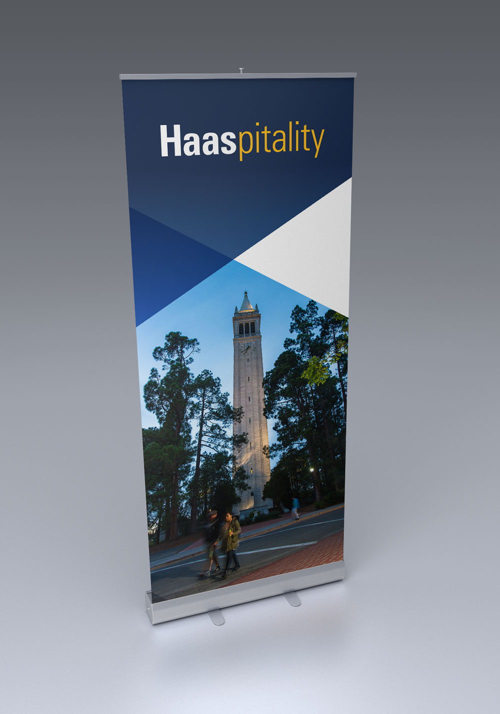 UC Berkeley Haas School of Business Pull-up Banner