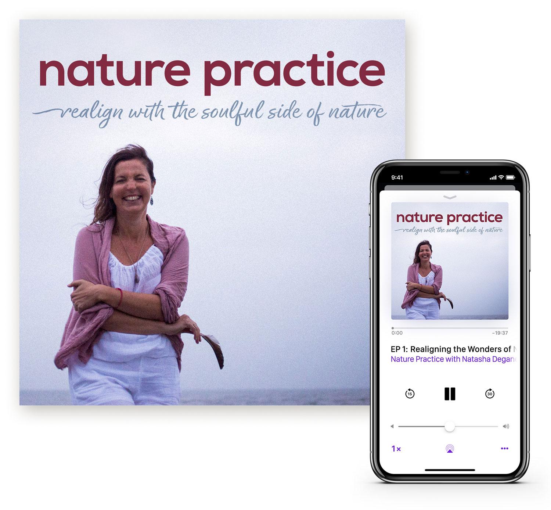 Nature Practice by Natasha Deganello Giraudie Podcast Artwork