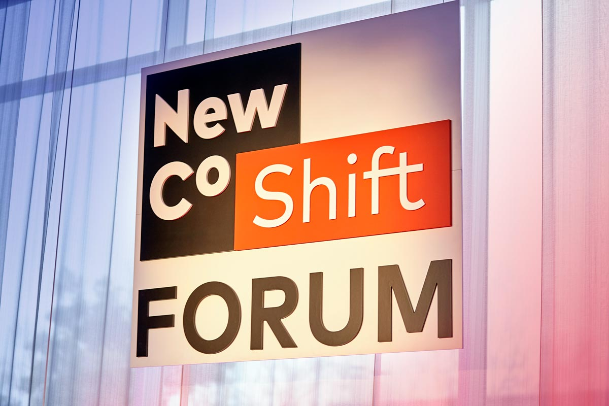 NewCo Shift Forum Signage