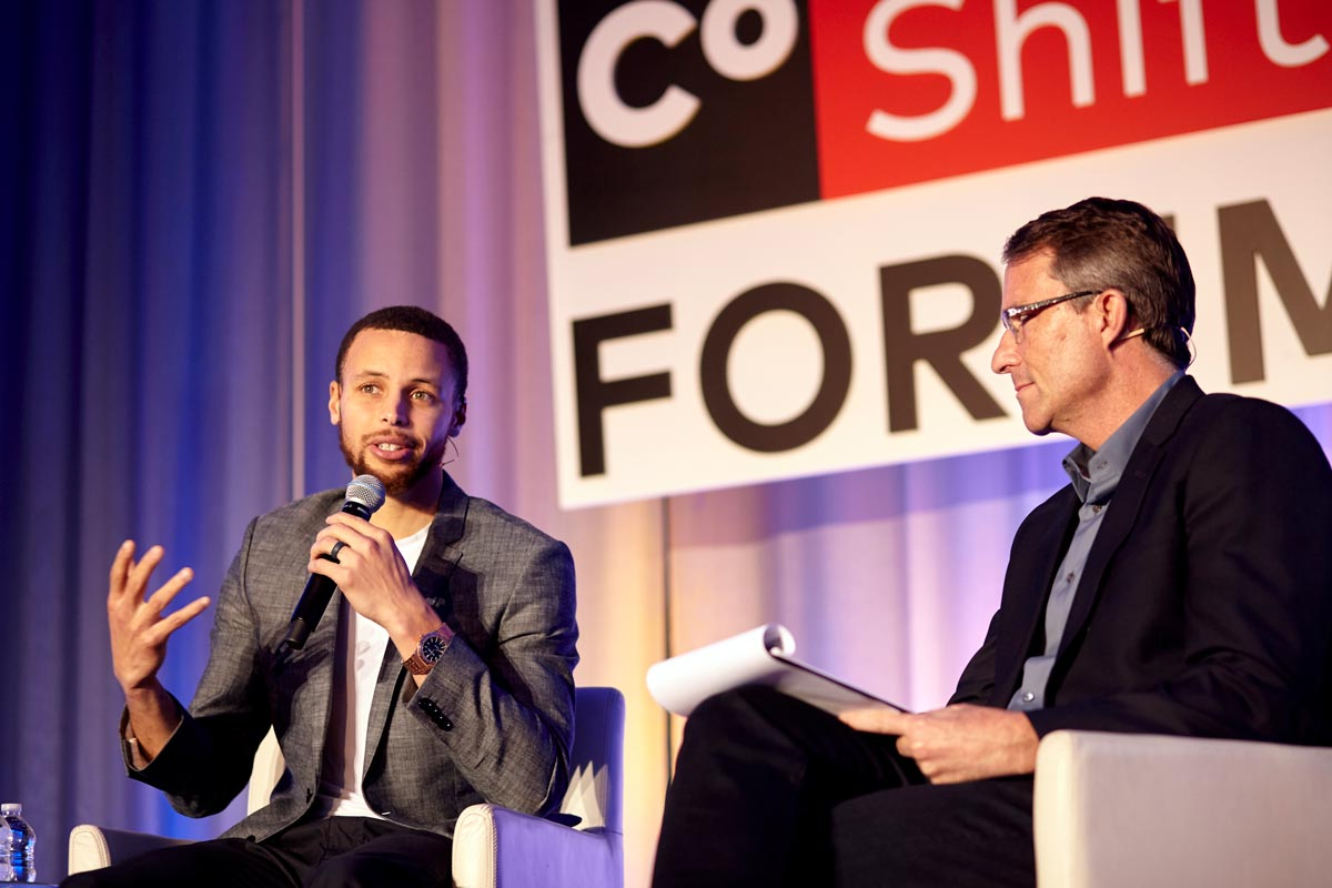 NewCo Shift Forum Steph Curry Interview