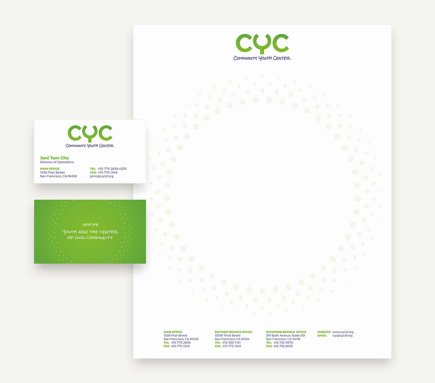 CYC stationery