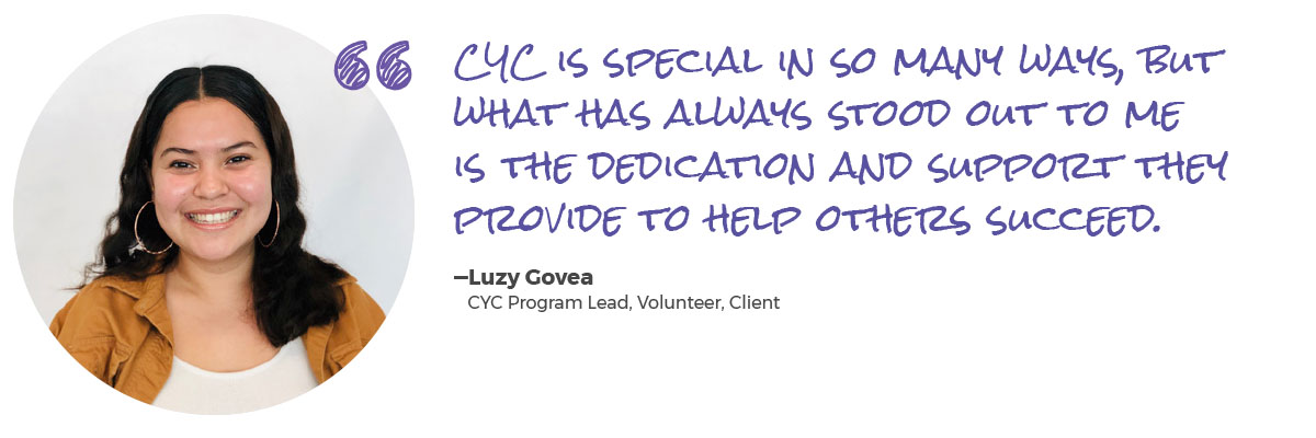 CYC quote Luzy Govea