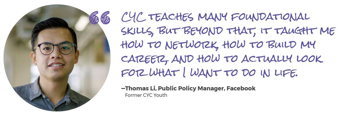 CYC quote Thomas Li