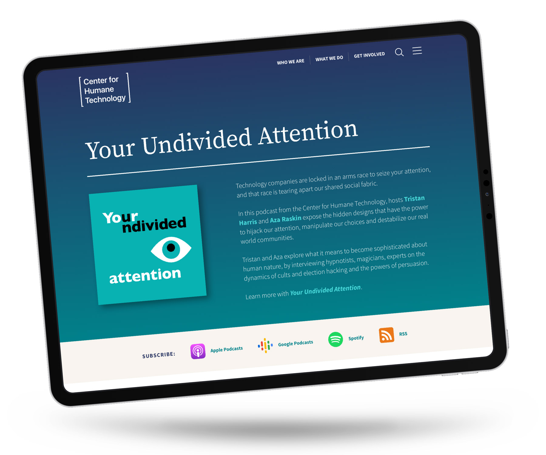 Your Undivided Attention Podcast from CHT