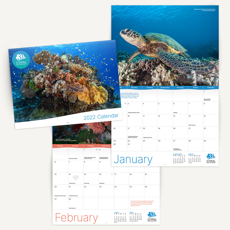 Coral Reef Alliance - 2022 Calendar
