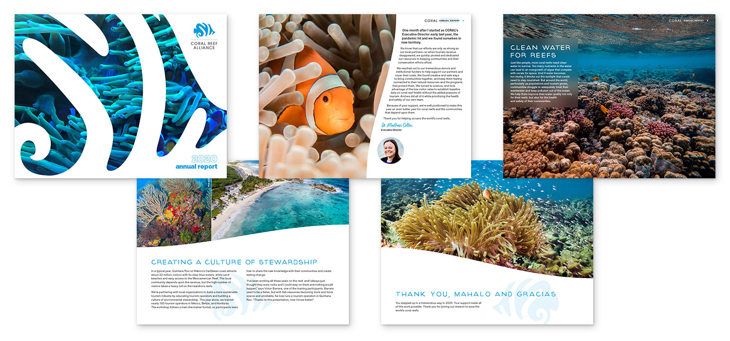 Coral Reef Alliance - 2020 Annual Report