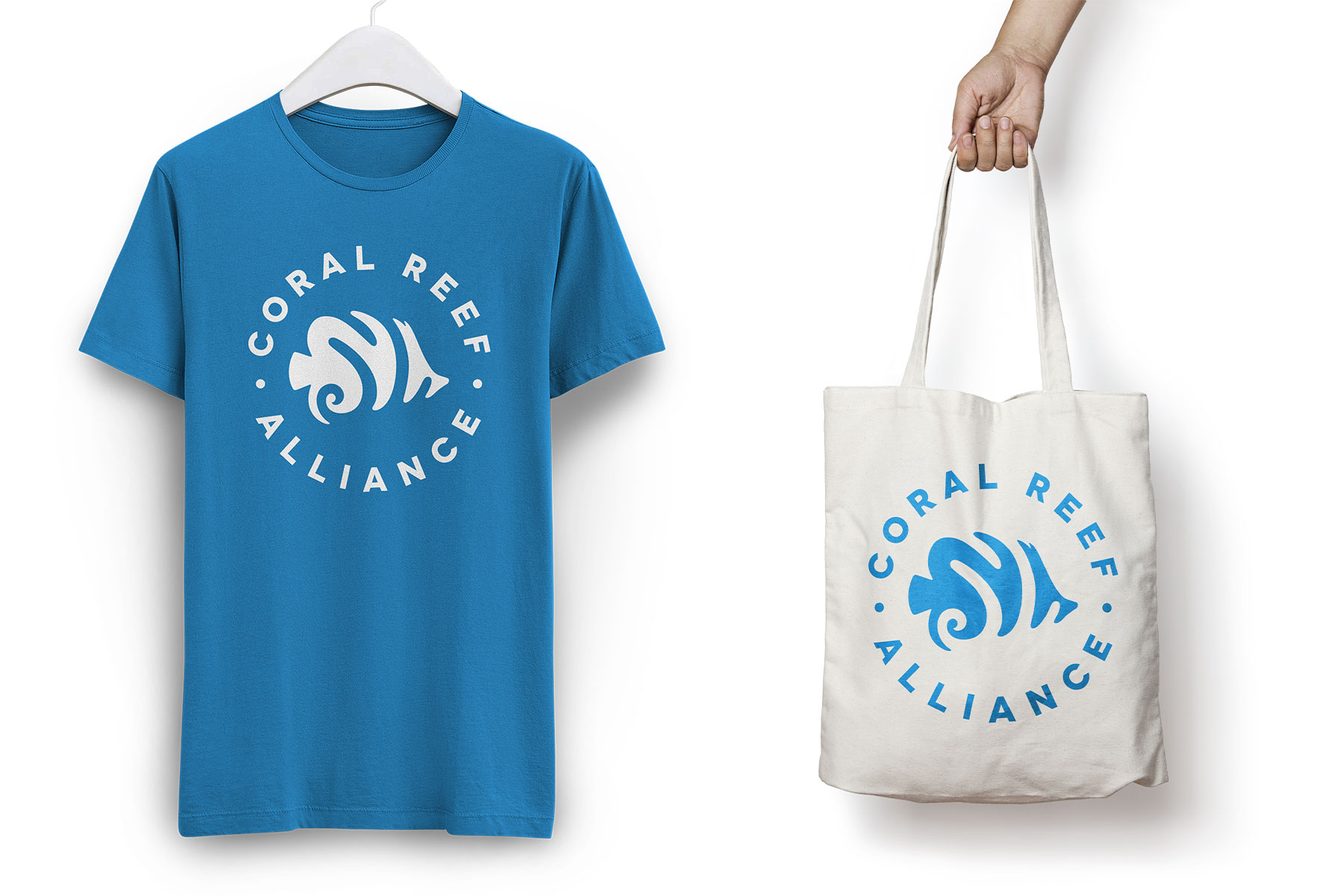 Coral Reef Alliance - T-shirt and Tote Bag